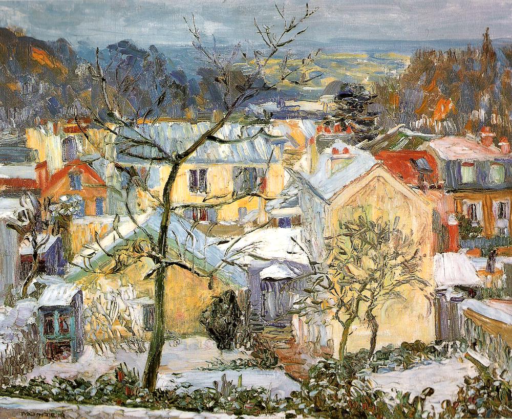 gabrielle munter | Gabriele Munter-Sevres France-1906 | Gabriele Munter
