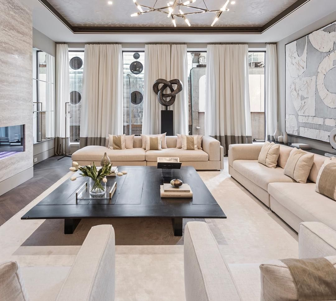 """Small Nyc Apartment Living Room Ideas: Cheryl Eisen On Instagram: """"One Of My Fave Townhouse"""