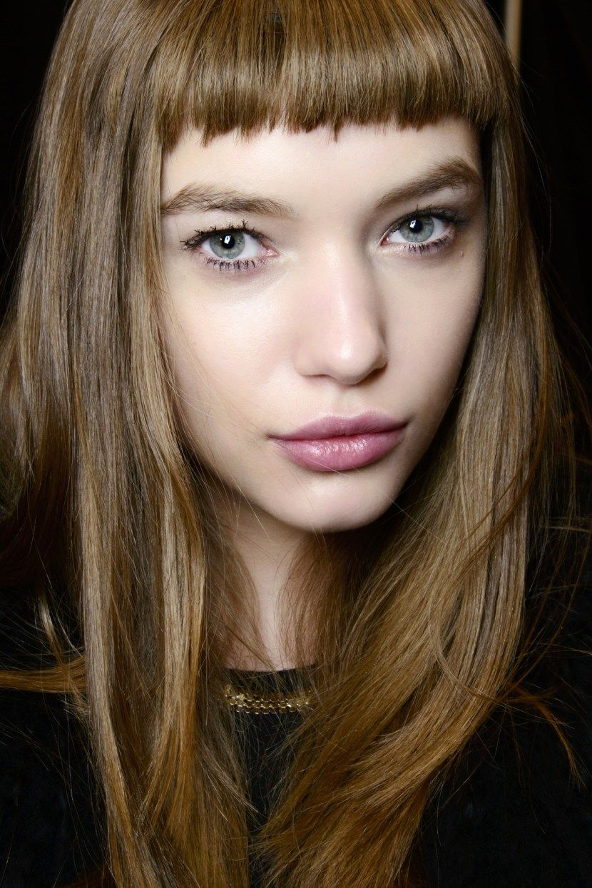 The 50 Best Bangs For Fall Baby Bangs Long Hair Long Hair Styles Oval Face Hairstyles