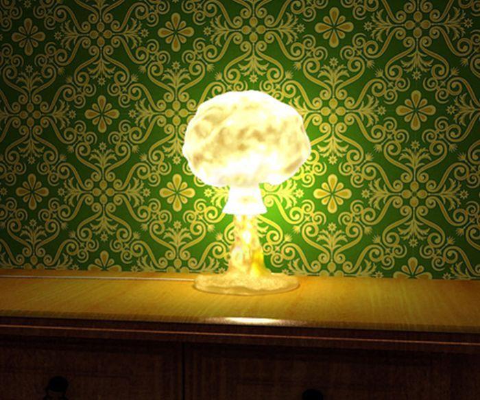 Mushroom Cloud Lamp By Tembolat Gugkaev