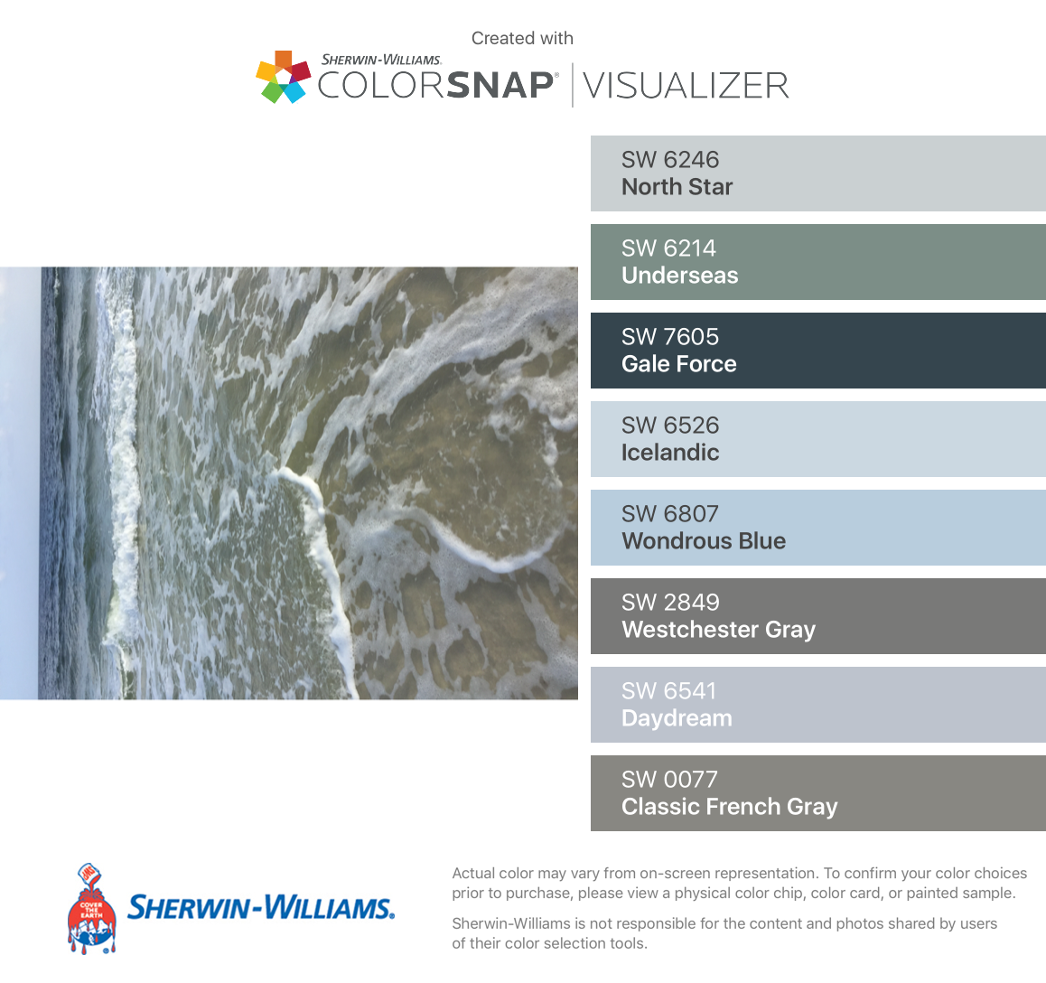 Westchester Master Bath: I Found These Colors With ColorSnap® Visualizer For IPhone