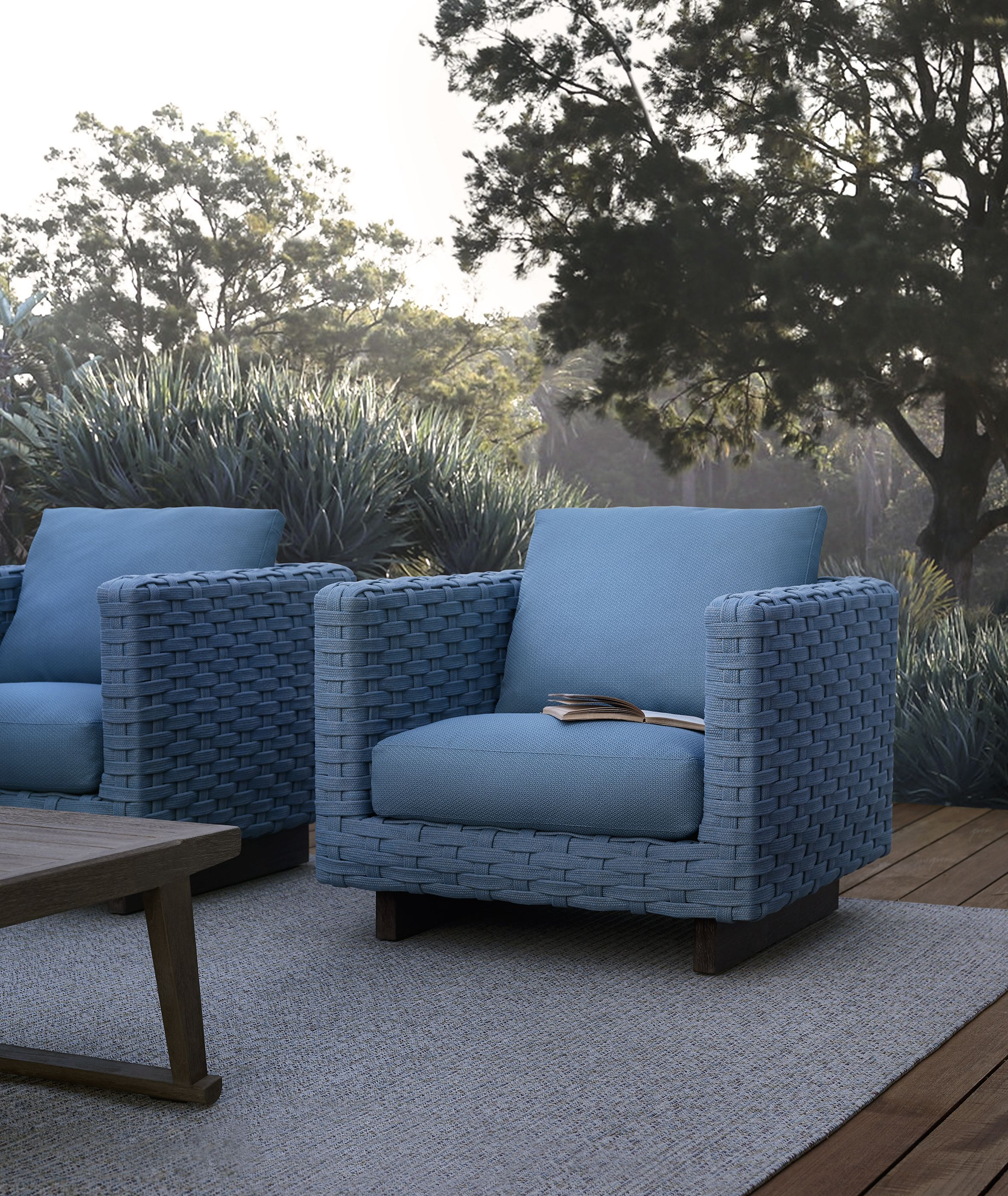 Erica armchairs by Antonio Citterio #bebitalia #outdoor ...