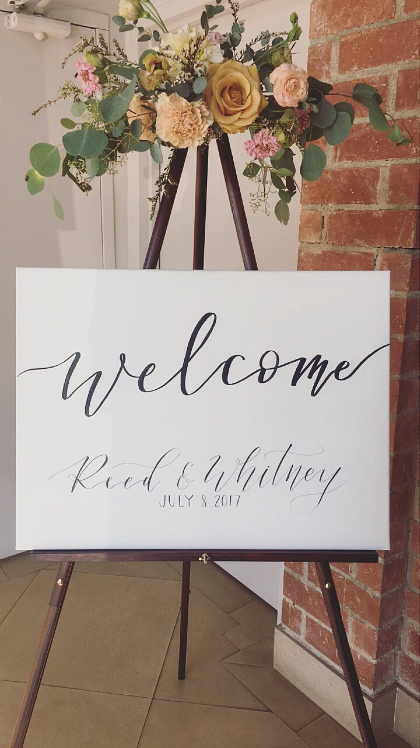 Personalised Wedding Welcome Signs Rustic Wooden Plank Style Vintage Signage MDF