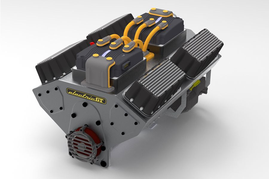 Electric gt crate motors convert gas to electric crate