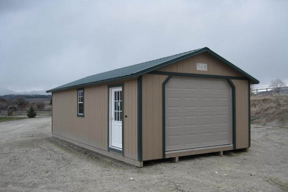Portable Garages | Prefab garages, Portable garage ...