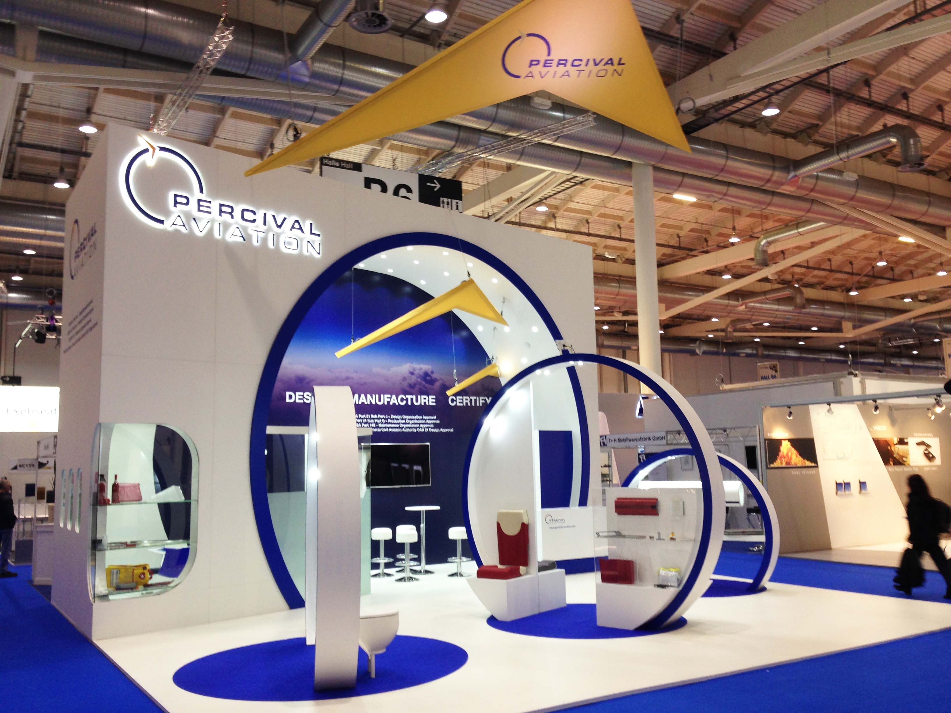Exhibition Stand Circle : Percival aviation s stand new exhibition booth design booth