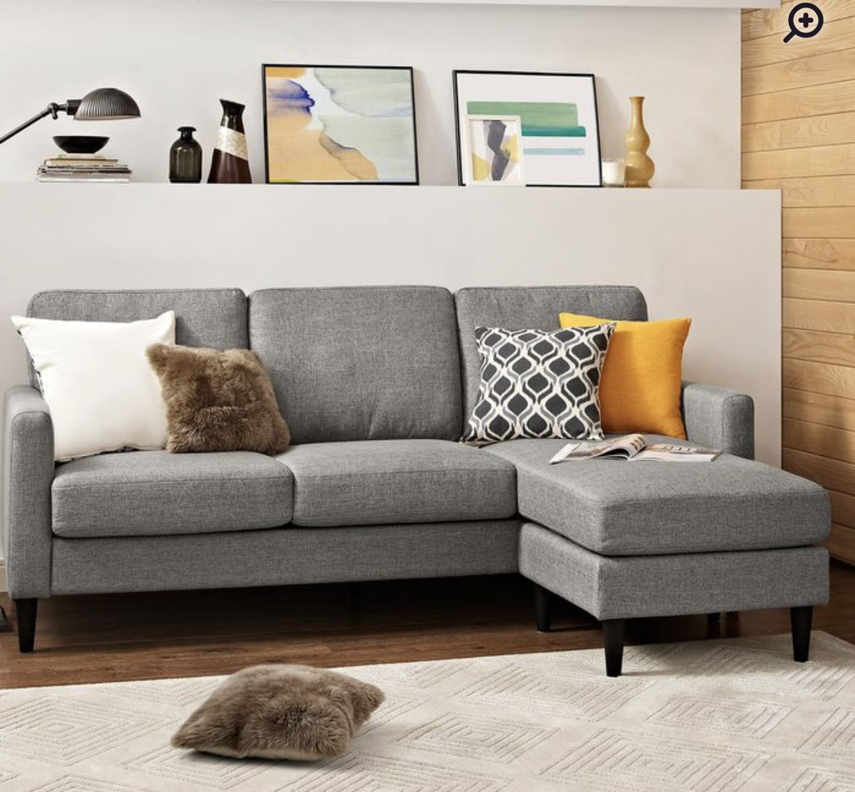Swell 559 00 Wayfair Apartment In 2019 Furniture Sectional Bralicious Painted Fabric Chair Ideas Braliciousco