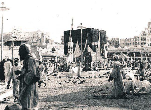 من روائع الصور القديمة للحرم المكي الشريف احتفظوا فيها Haramain Pic Pilgrimage To Mecca Mecca Makkah