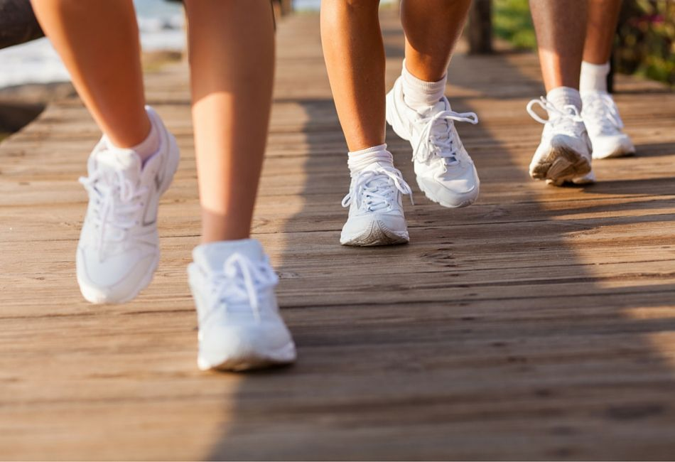 Que tal montar um grupo para fazer caminhadas e ganhar mais saúde?