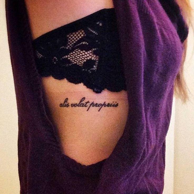 Resultado De Imagem Para Alis Volat Propriis Tatuagem