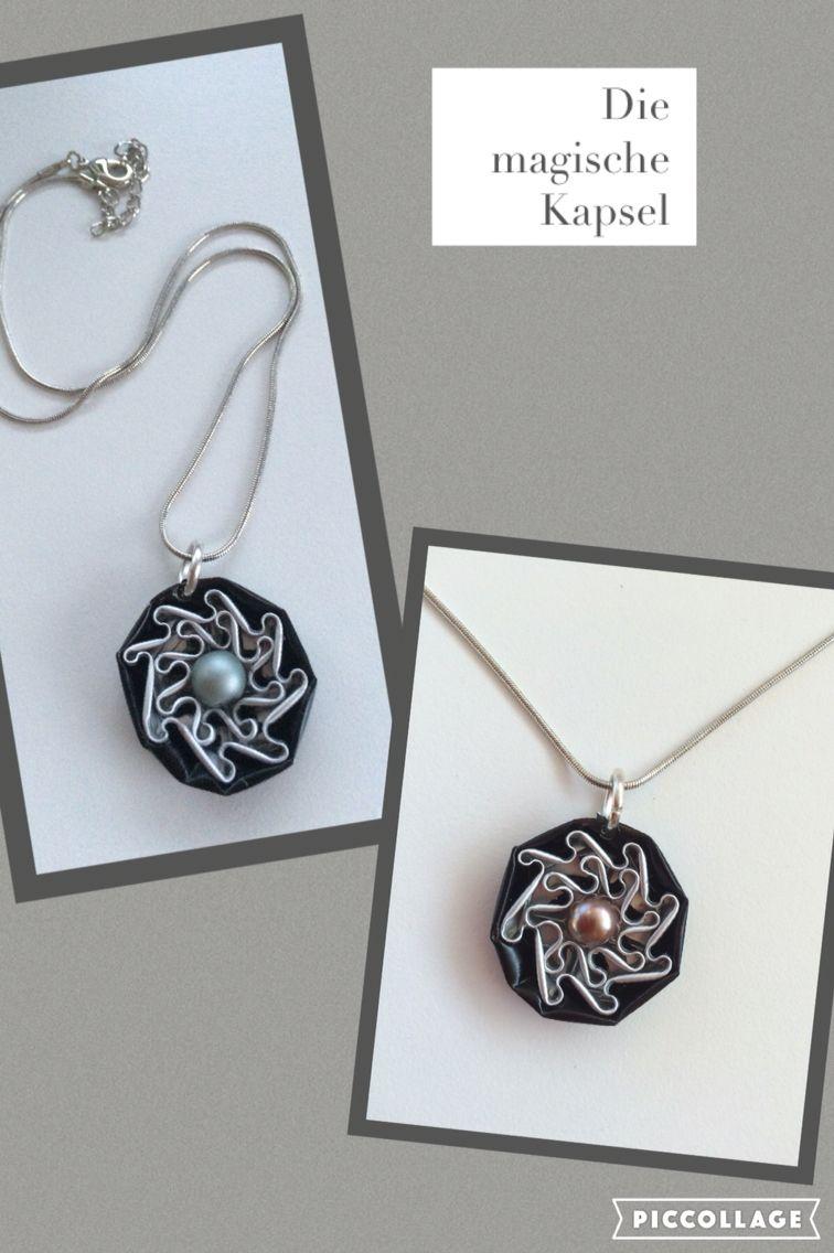 Halsketten-Anhänger mit Blume