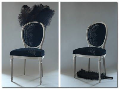 Awesome Burlesque Chair Ghost Furniture