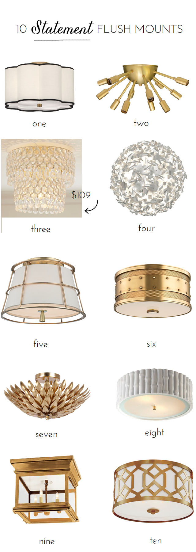 Bathroom Lights Make Me Look Ugly best flush mount ceiling lighting - my 10 faves from inexpensive