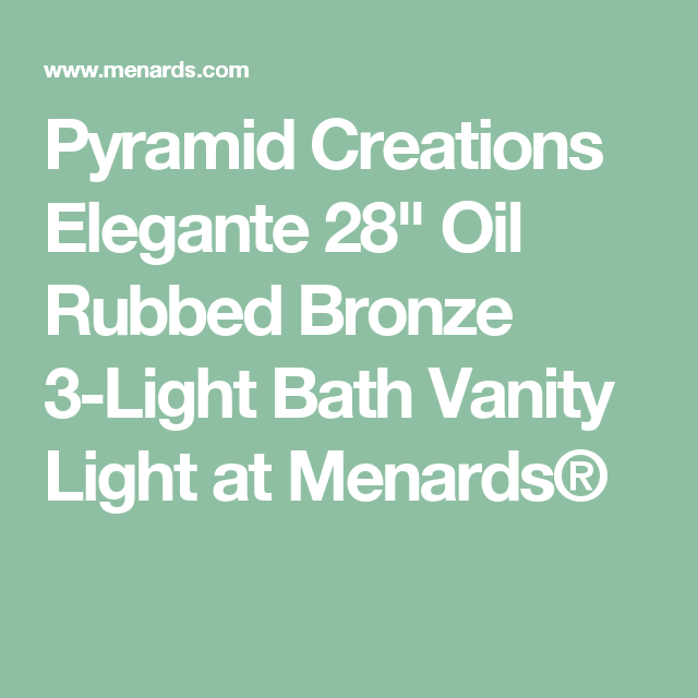 Pyramid Creations Elegante 28\