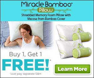 Miracle Bamboo Pillow Most Comfortable Pillow Pillows