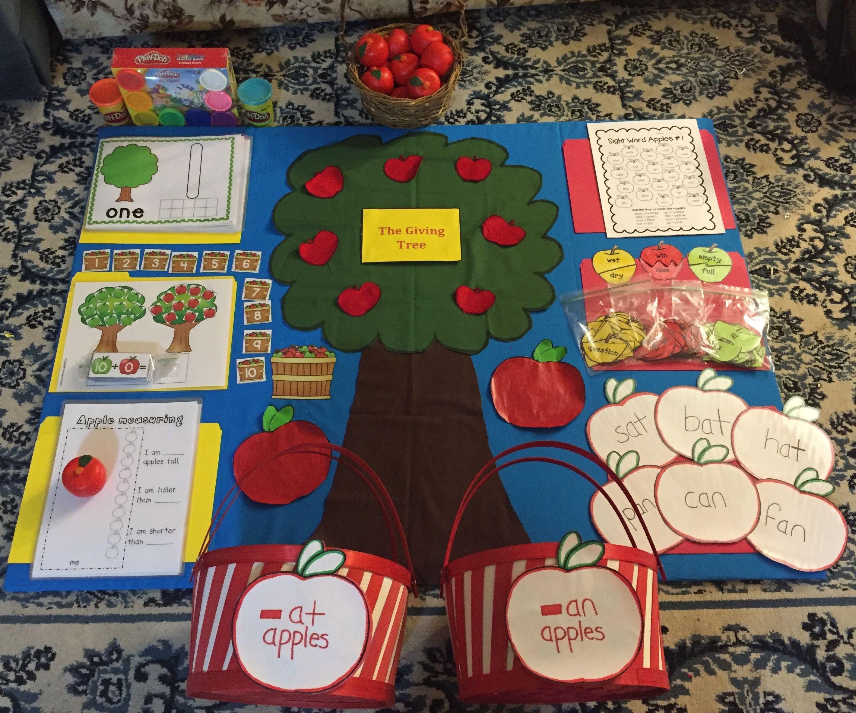 Kindergarten Math And Reading Activities