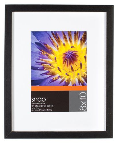 Snap Black 8inchby10inch Desk Frame Matted To 5inchby7inch Click On The Image For Additional Details Frame Frames On Wall Picture Frames