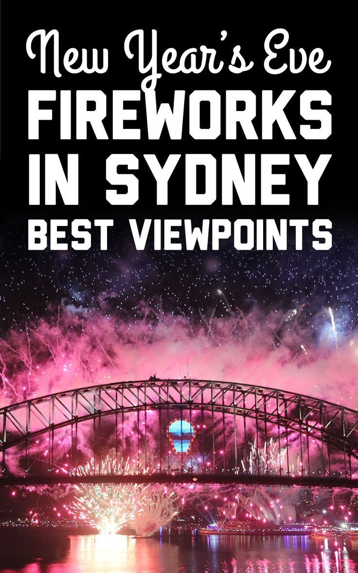 Where to see the New Year's Eve fireworks in Sydney in