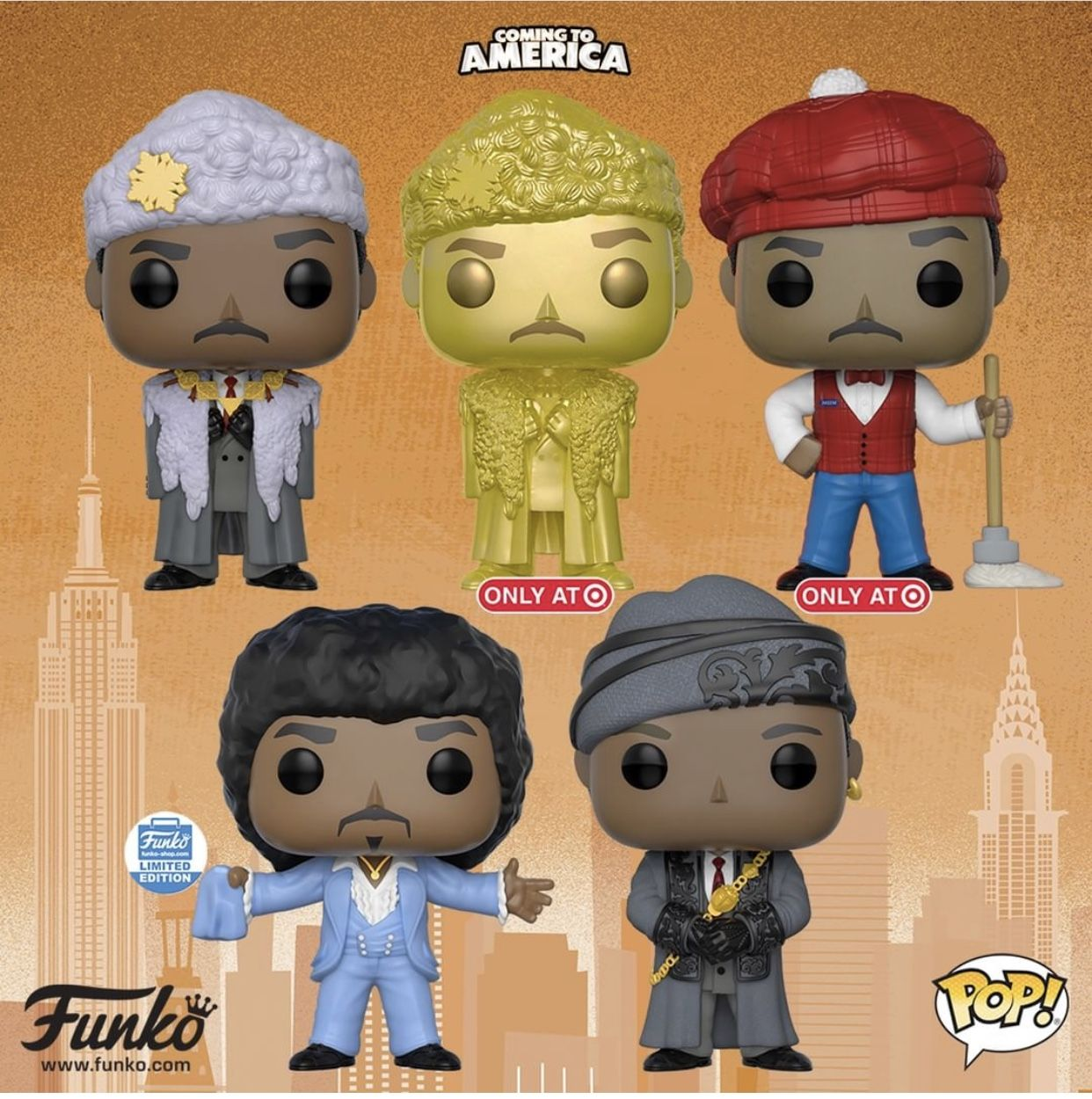 Funko Pop! Vinyl- Coming To America (Coming Soon) (With ...
