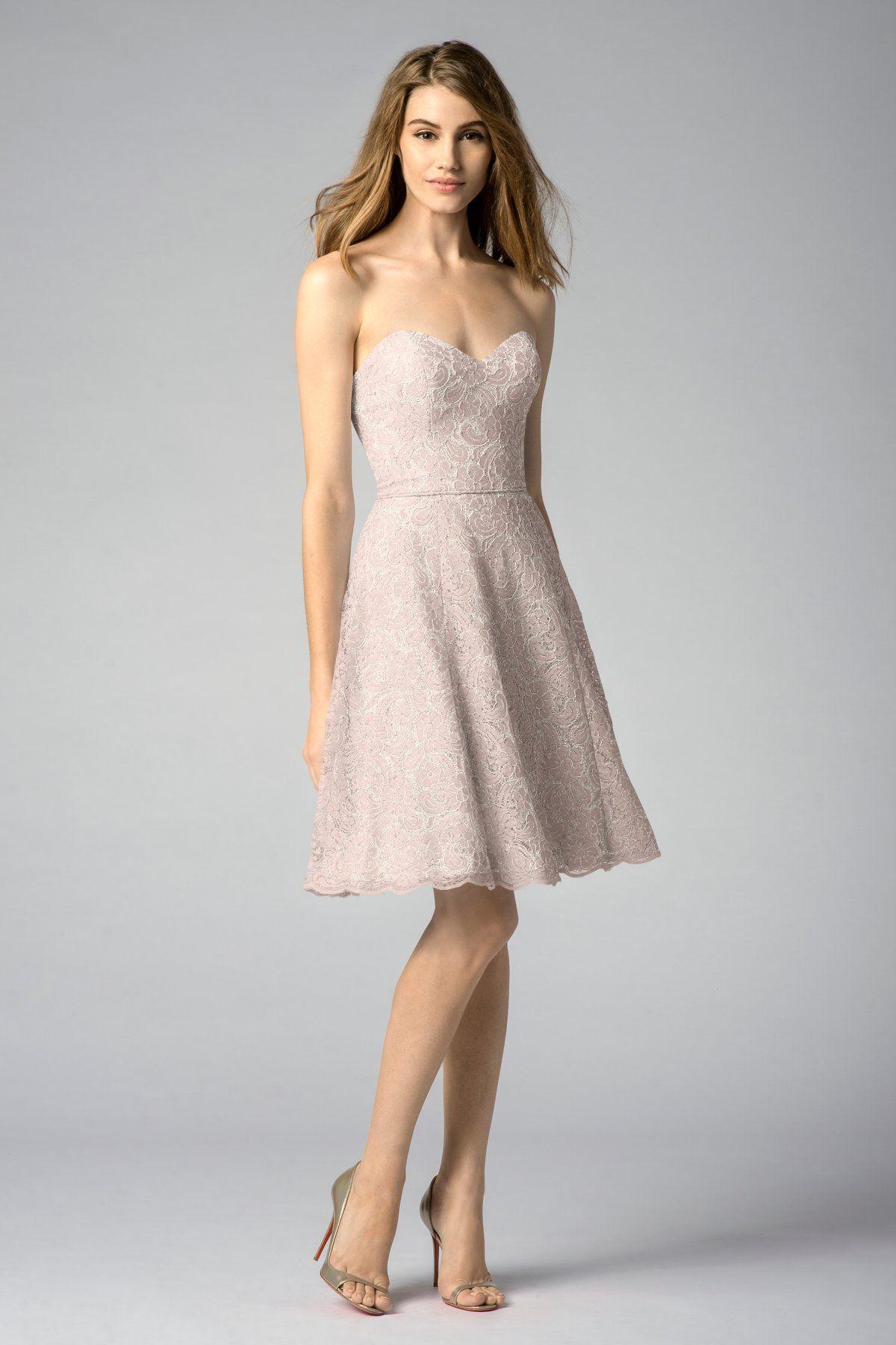Watters Maids Dress Rhiannon