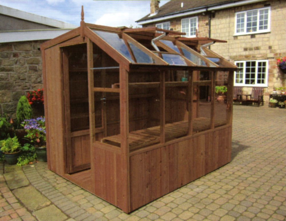 Wooden Potting Shed Plant Flower Vegetables Growing House Greenhouse Garden  New In Garden U0026 Patio,