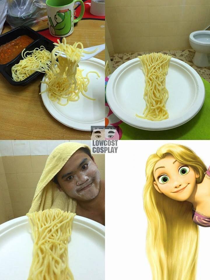 Funny Cosplay Rapunzel