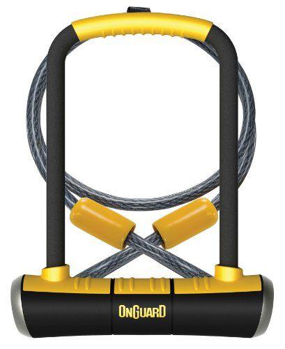 Bike U Locks Onguard Doubleteam Pitbull Ulock And Cable Want