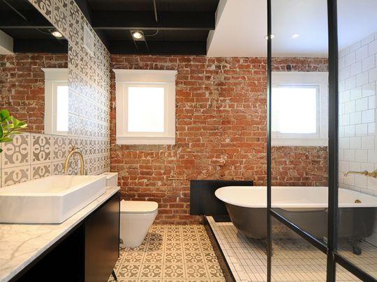 Top 10 Home Decor And Design Trends For 2016 Ziegel Badezimmer Badezimmer Einrichtung Moderner Bungalow