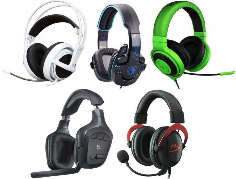 Newly Headsets Updated USB Gaming Headphone G815 Headset Computer Over Ear With