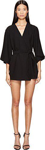 c4893517467 LAMARQUE Women s Jamari Kimono Jumpsuit Black Medium