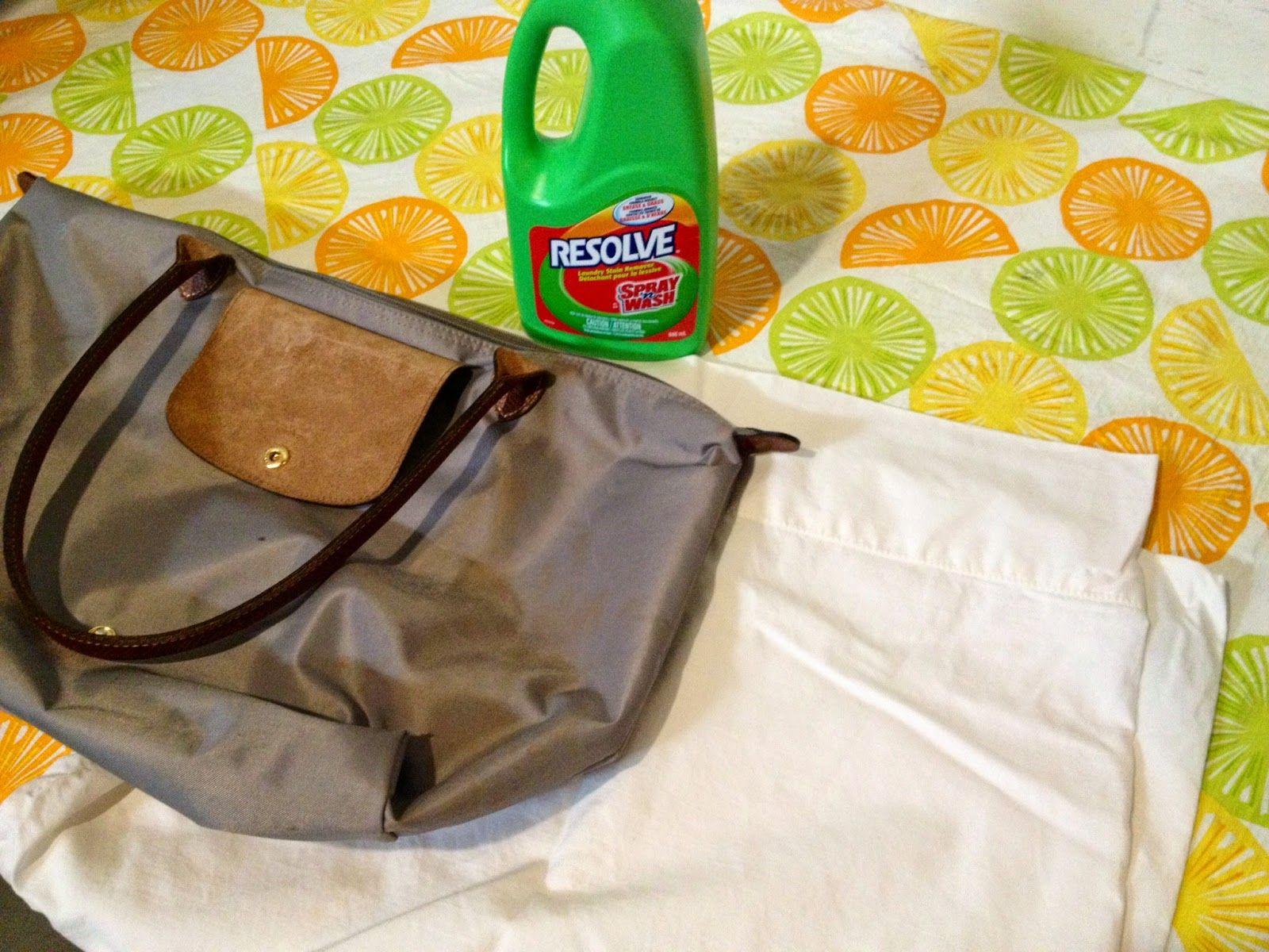 da59f24f198b Cherry Pie Twins  How To Clean A Longchamp Bag