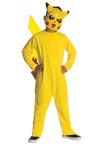 Deluxe Pikachu Child Costume NEW Pokemon