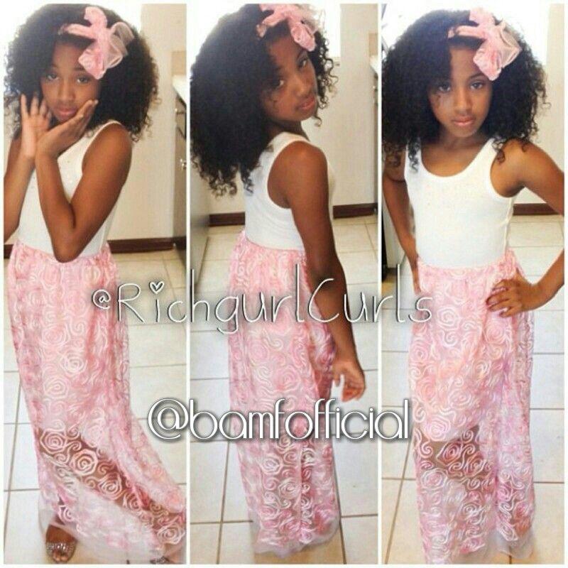 Cute mixed fashion kid
