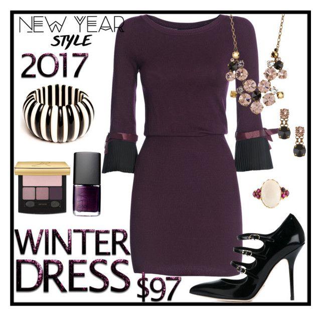 """Dress under $100"" by stephaniedsmigo ❤ liked on Polyvore featuring FRACOMINA, NARS Cosmetics, Dolce&Gabbana, Sorrelli and under100"
