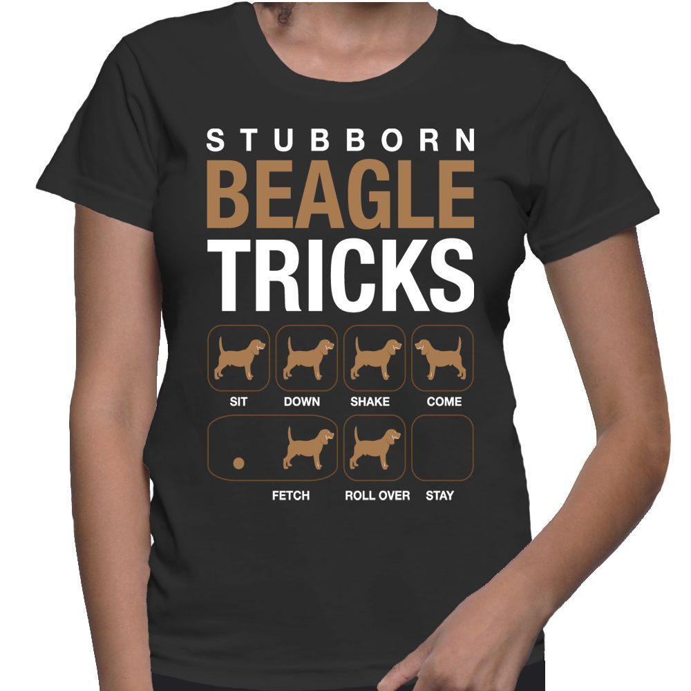 Dogs Stubborn Beagle Tricks