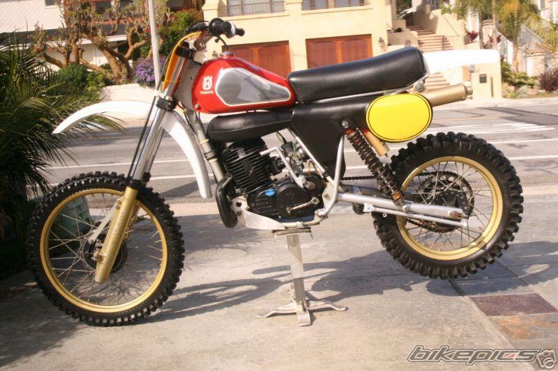 Cr430 Husqvarna Vintage Motocross Classic Bikes Motocross Bikes