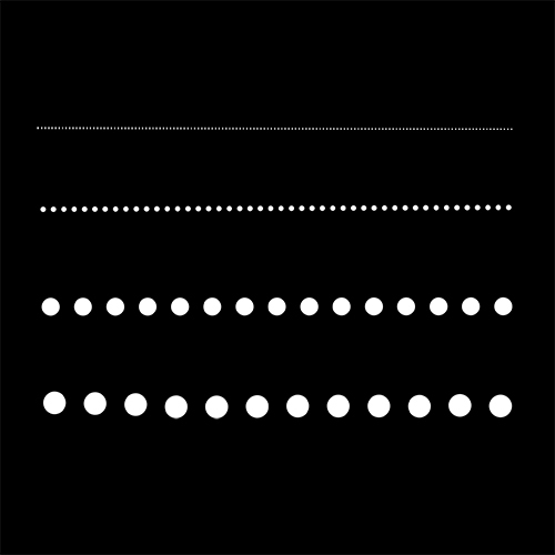 Dotted Line Brush Dotted Line Dots Ipad Lettering