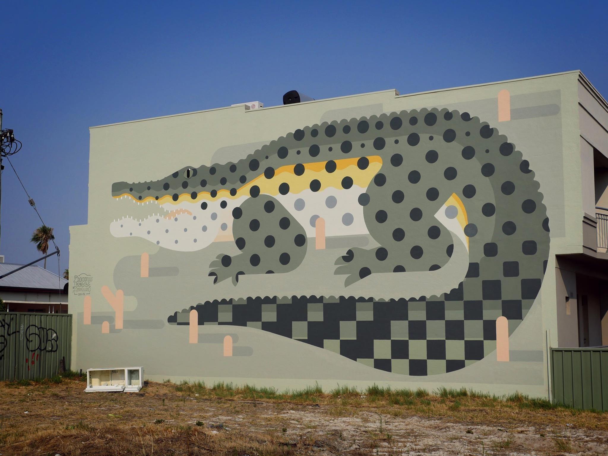 Amok Island, Brisbane Street in Highgate, Perth, Australia, 2015