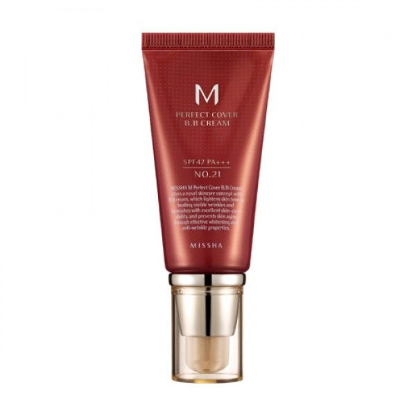 [ MISSHA ] M Perfect Cover BB Cream  SPF42 PA   50ml