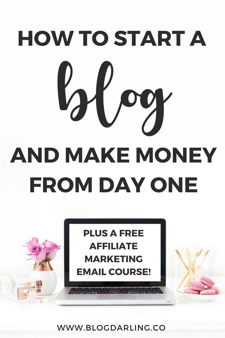 How to Start a Profitable Blog and Make Money Blogging | Blogging ...