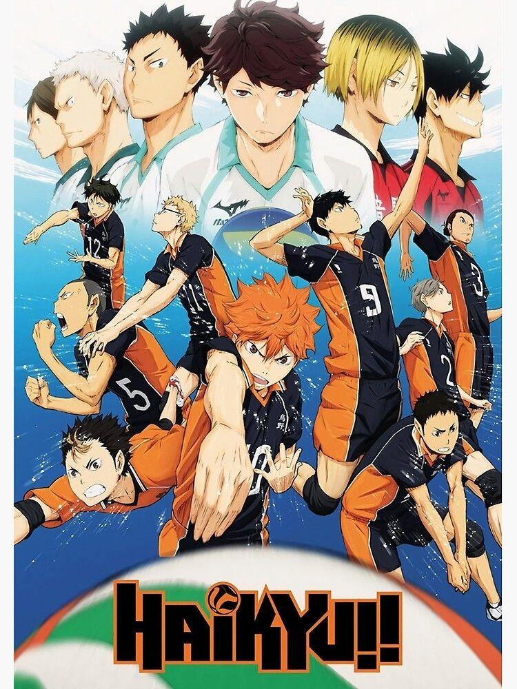"""haikyuu !!"" Poster by mariaozawaa , AD, haikyuu,"