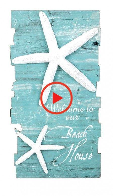 Beach House Starfish Wall #homedecor