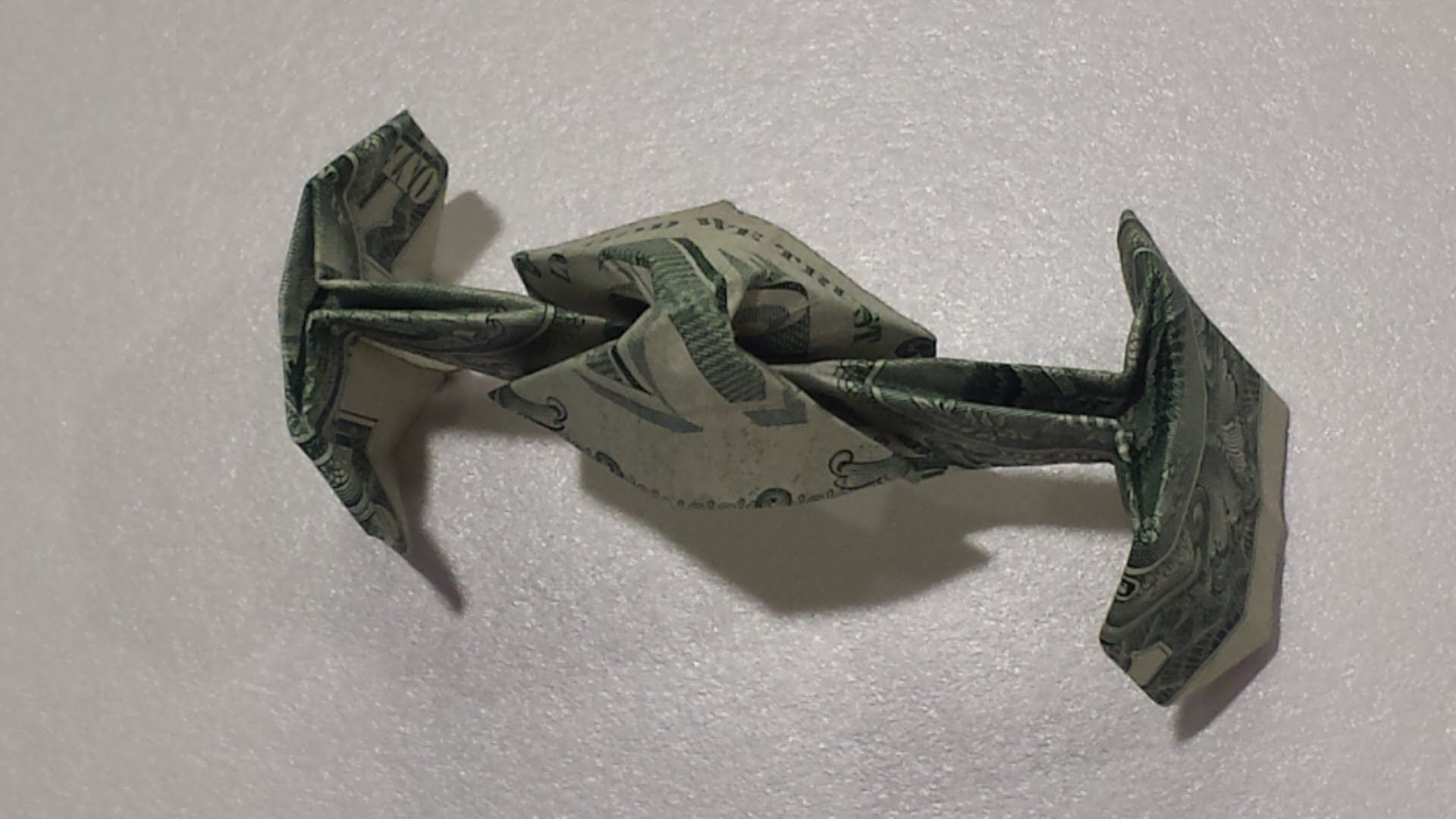 Star wars tie fighter how to fold a dollar origami tie fighter in this video i will show you step by step how to fold a single dollar bill into the star wars tie fighter jeuxipadfo Image collections