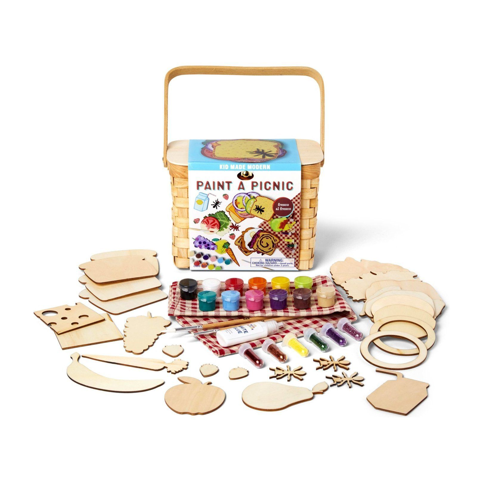 Paint A Picnic Craft Kit Craft Kits For Kids Arts And Crafts For Kids Craft Kits