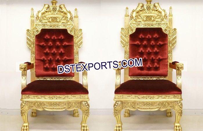 Indian Wedding Bridal Maharaja Chairs Dstexports