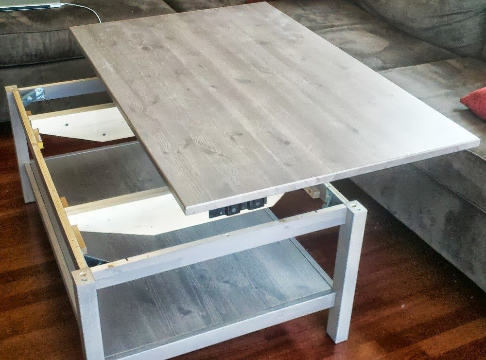 Ikea Coffee Table Lift Top Hack With