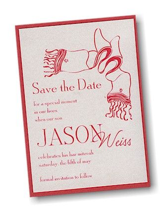 True Tallit #Save #the #Date #Card