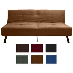 Astounding Microfiber Gray Futon Sofa Futon Sofa Bed Home Evergreenethics Interior Chair Design Evergreenethicsorg
