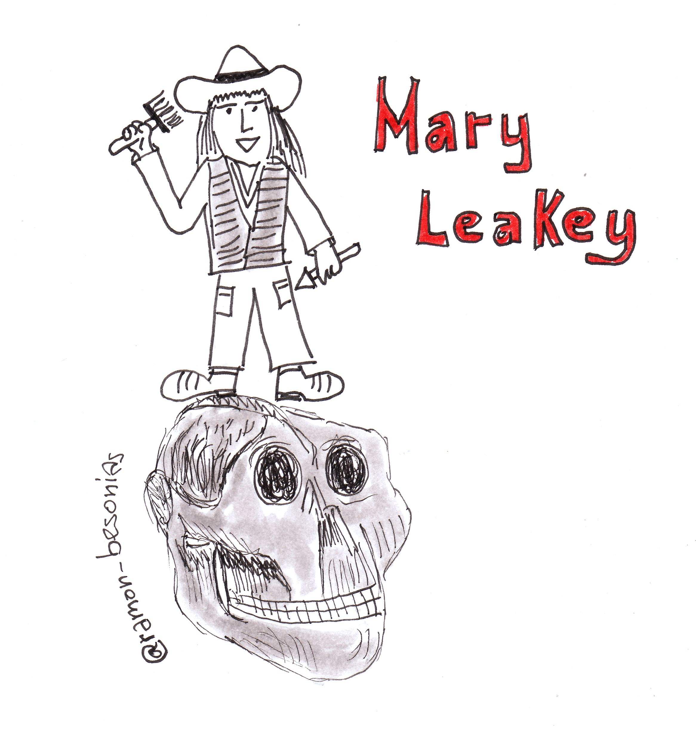 Un 6 de febrero nacía Mary Leakey. Su madre la llevó a un convento del que se escaparía para realizar su sueño: ser arqueóloga. Entre sus logros: el primer cráneo de un simio fósil en la Isla Rusinga, un cráneo de Australopithecus boisei de 1.75 millones de años de antigüedad y desenterrar las huellas de Laetoli.  La figura popular del arqueólogo, como otras muchas, es eminentemente masculina. Mary Leakey rompió estereotipos y de paso nos ayudó a encontrar nuestras raíces.