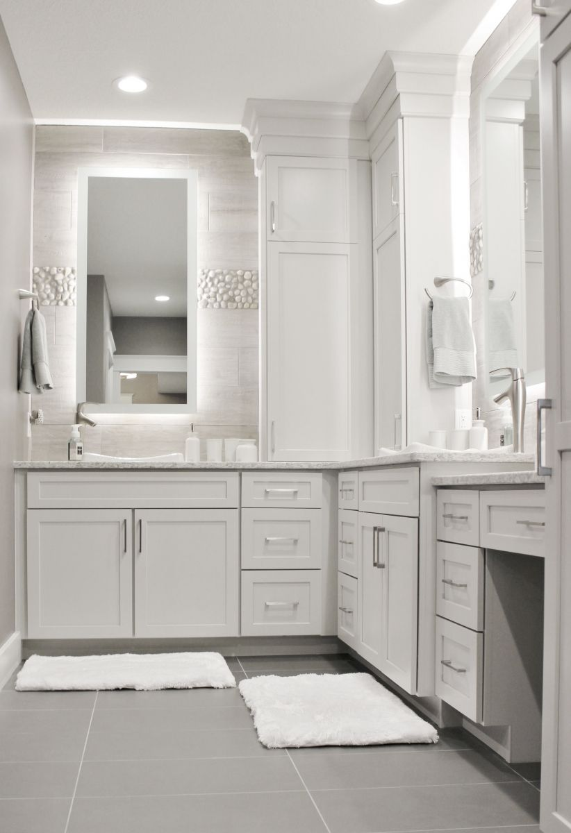 Light Gray Paint Color For Bathroom